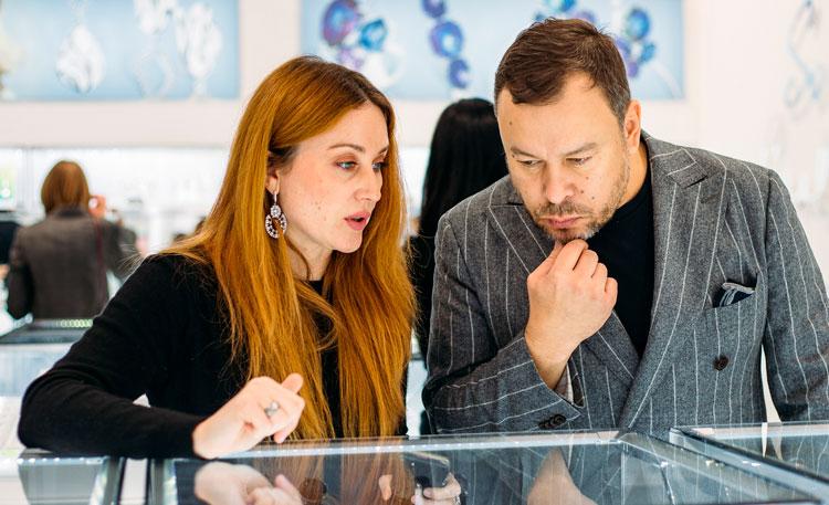 Игорь Чапурин провёл мастер-класс в SOKOLOV
