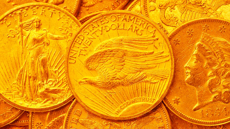Деньги из золота