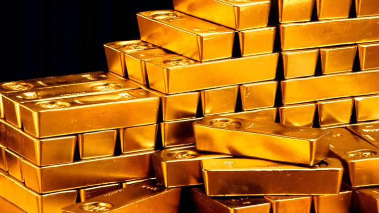 Куб из золота